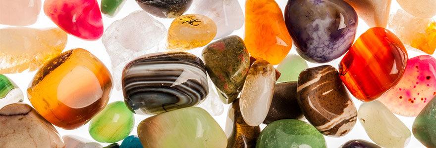 Usage des pierres semi-précieuses